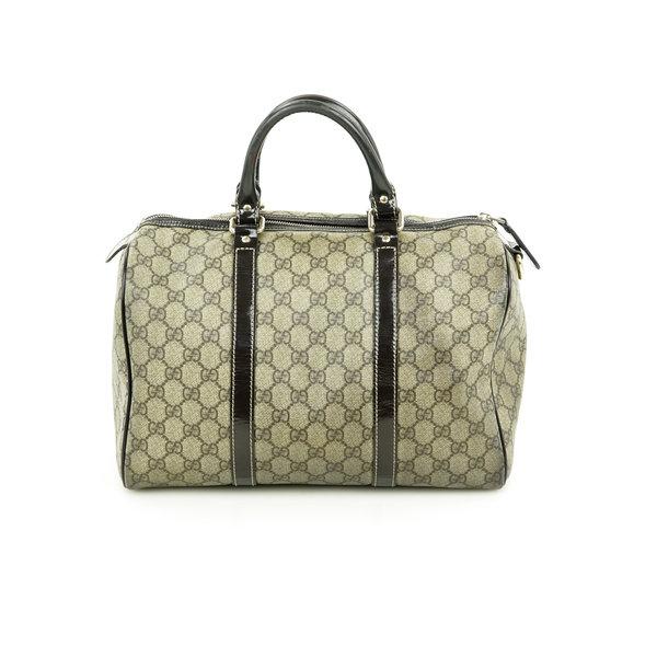 Gucci Boston Bag Coated Monogram