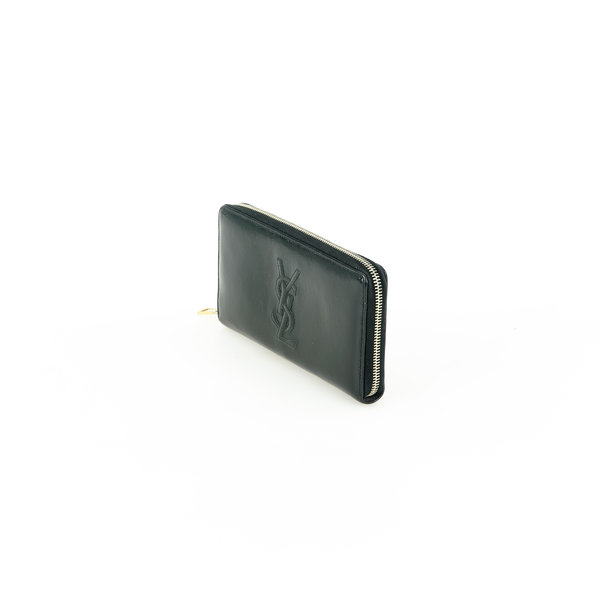 Yves Saint Laurent Lackleder Zippy Portemonnaie