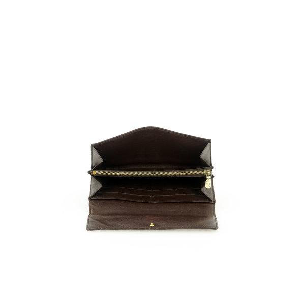 Louis Vuitton Portemonnaie Damier Ebene Sarah