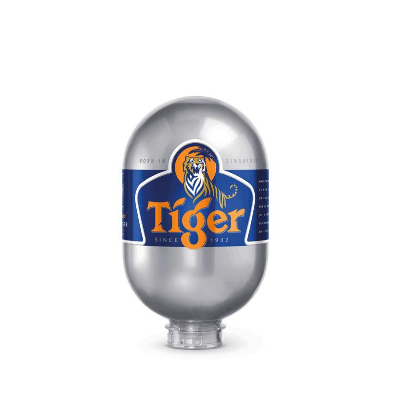 Tiger 8L Keg