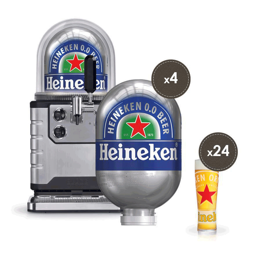 Heineken 0.0 Professional Bundle