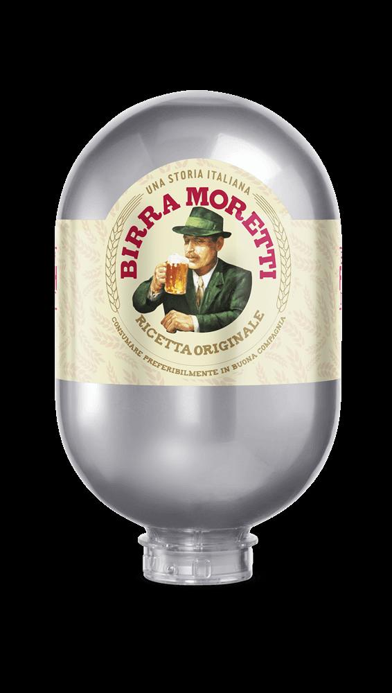 Birra Moretti 8L Fass