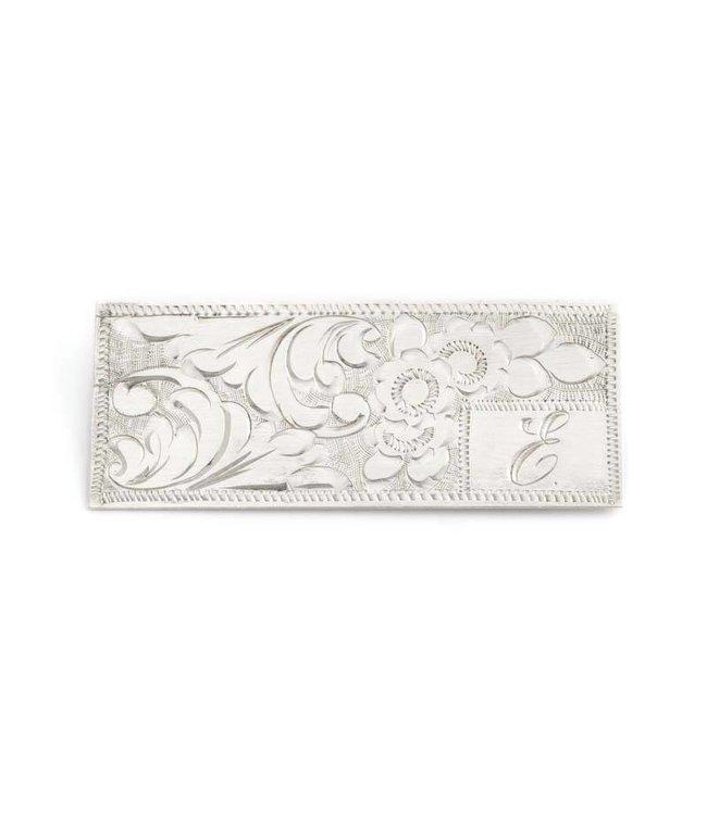 Aurora Patina Zilveren art nouveau broche