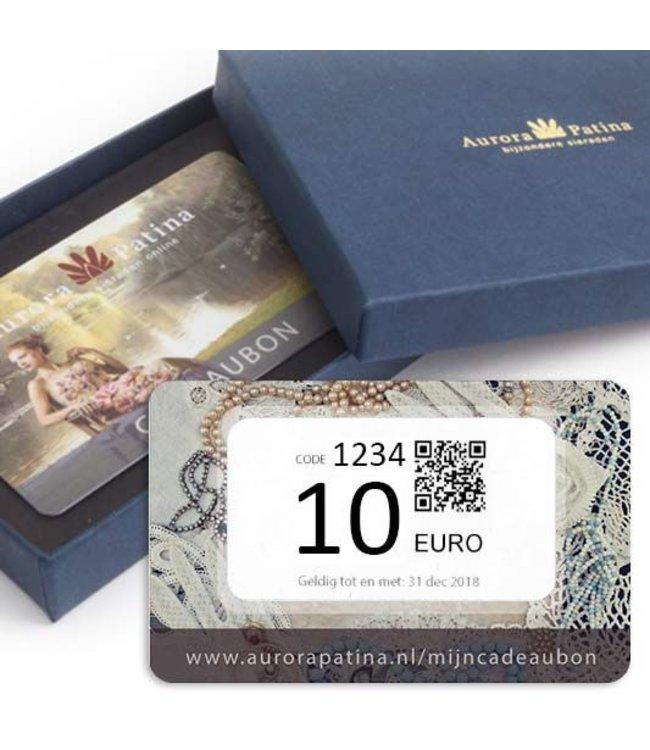 Aurora Patina Cadeaubonnen 10 tot 100 euro