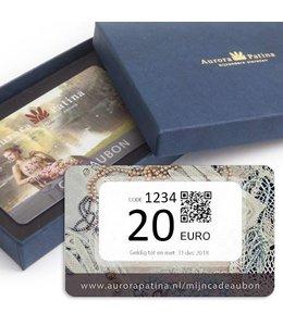 Aurora Patina Cadeaubon 20 euro