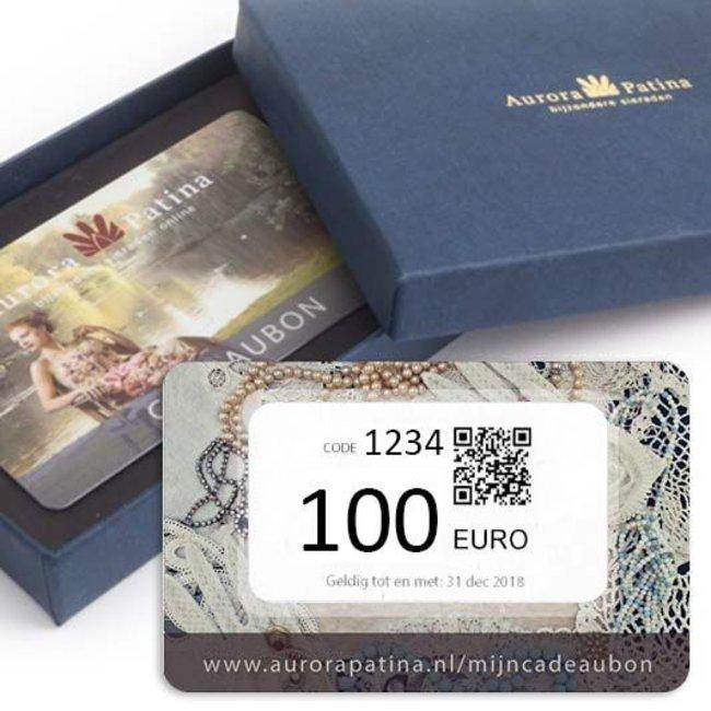 Aurora Patina Cadeaubon 100 euro