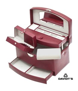 Davidt's Sieradenkoffer Euclide Rood