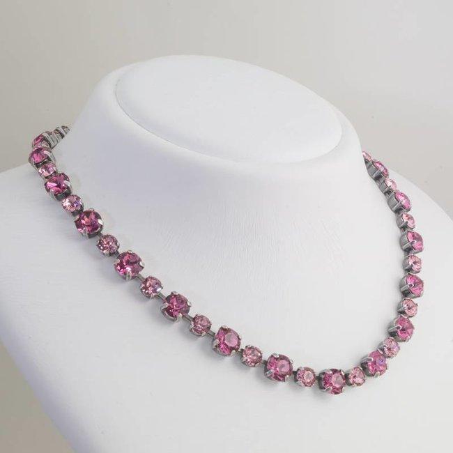 Krikor Roze collier kristal
