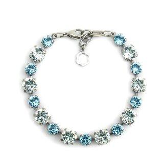 Krikor Licht blauwe armband kristal