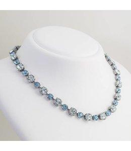 Krikor Licht blauw collier kristal