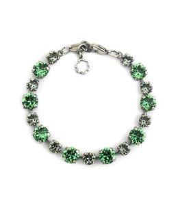 Krikor Groene armband kristal