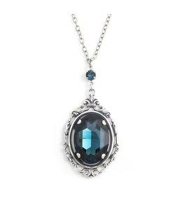 Krikor Montana blauw collier kristal