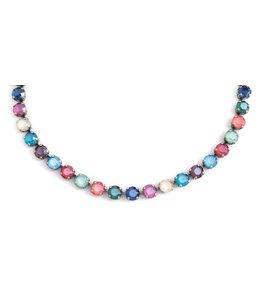 Krikor Meerkleurig collier 'Shiny'