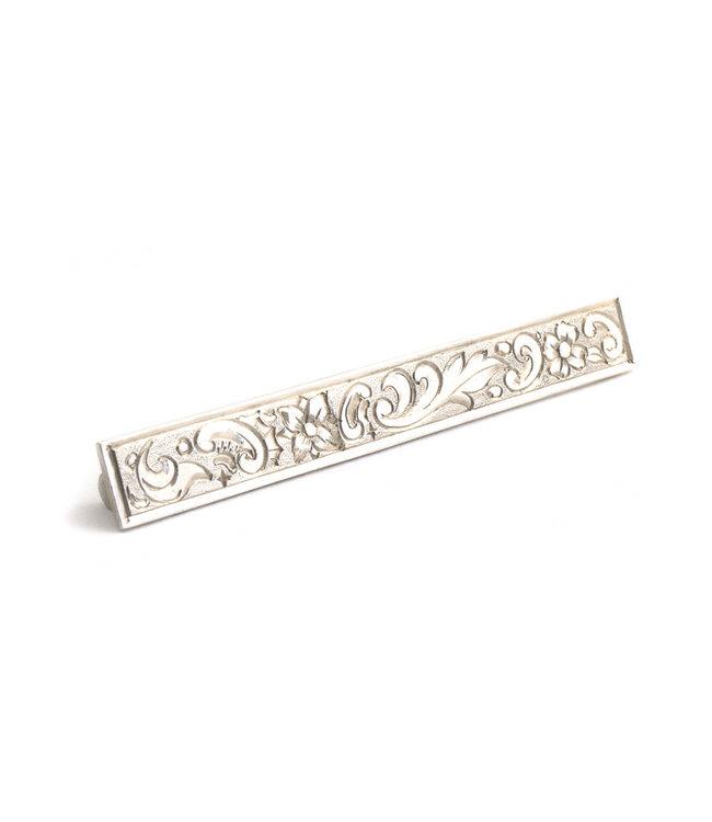 Aurora Patina Zilveren broche art nouveau met trompet sluiting