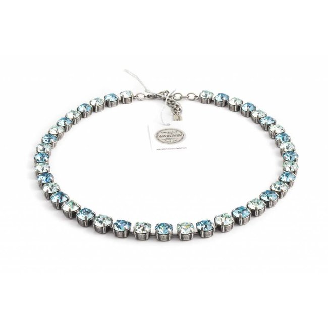 Krikor Licht blauw collier