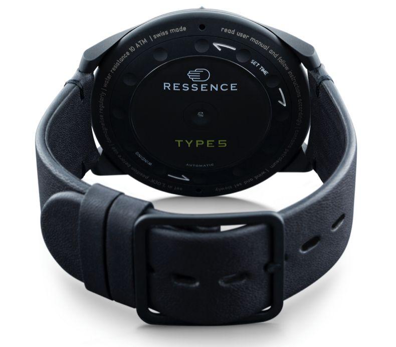 "Ressence Type 5 BB ""Black Black"""