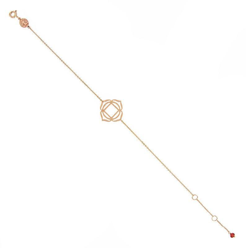 Tiny Om Chakra bracelet Muladhara