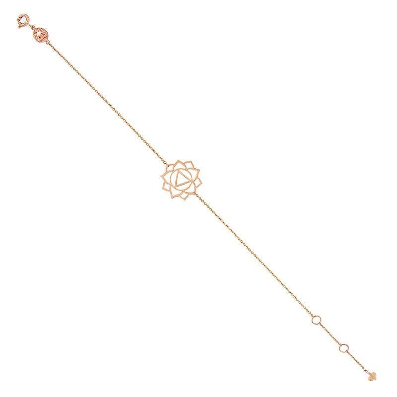 Tiny Om Chakra bracelet Manipura