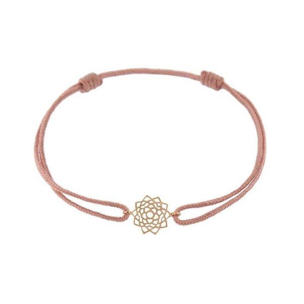 Chakra bracelet on thread Unity/Sahasrara