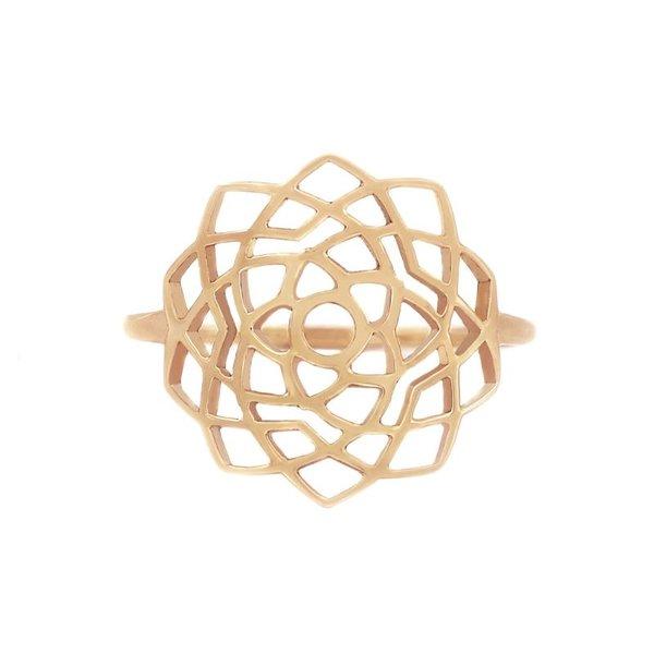 Medium chakra ring Unity/Sahasrara