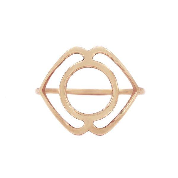 Medium chakra ring Serenity/Ajna