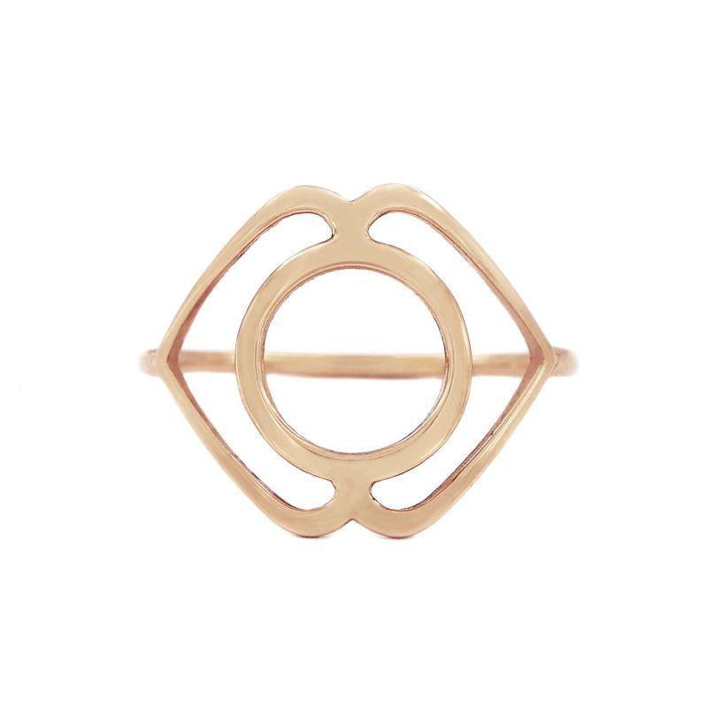 Tiny Om Medium chakra ring Serenity/Ajna