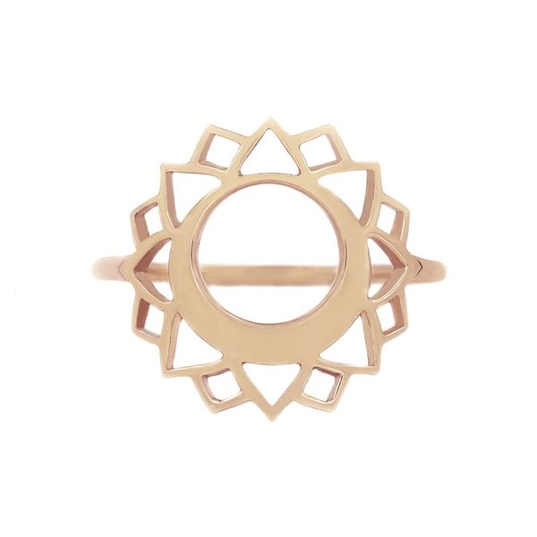 Medium chakra ring Communication/Vishuddha