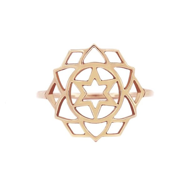Medium chakra ring Love/Anahata