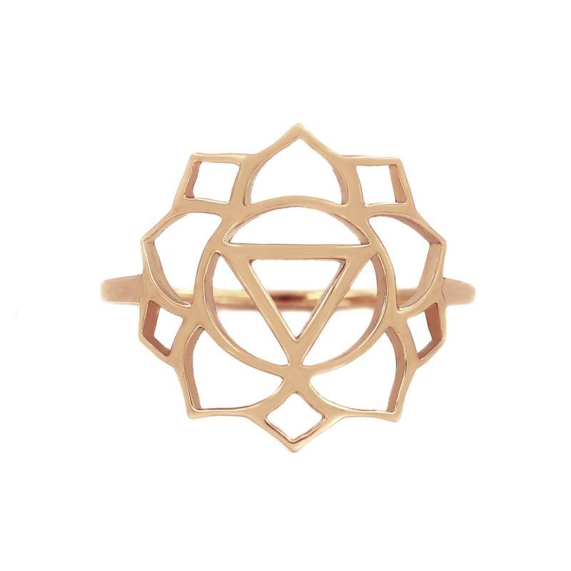 Tiny Om Medium chakra ring Confidence/Manipura