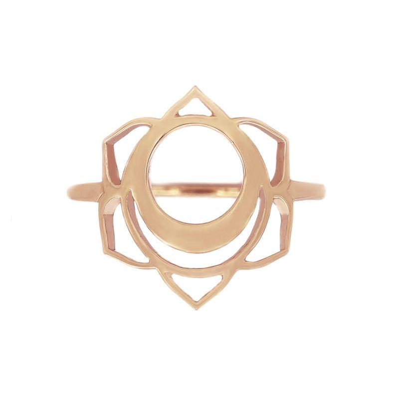 Tiny Om Medium chakra ring Creativity/Svadistha
