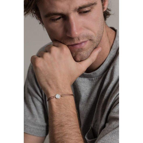 Unity silver bracelet