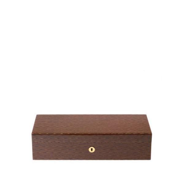 Heritage Herringbone 5 Watch Box