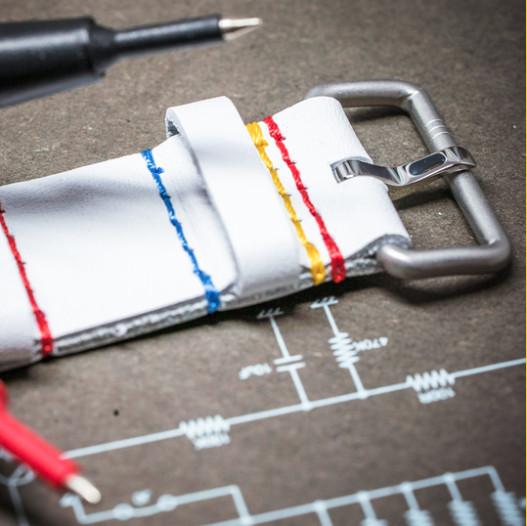 the-electricianz Elz-WHITE NATO STRAP