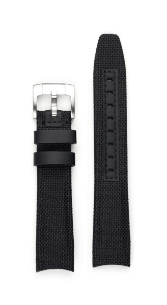 Everest EVEREST CURVED END NYLON WITH TANG BUCKLE (BLACK)