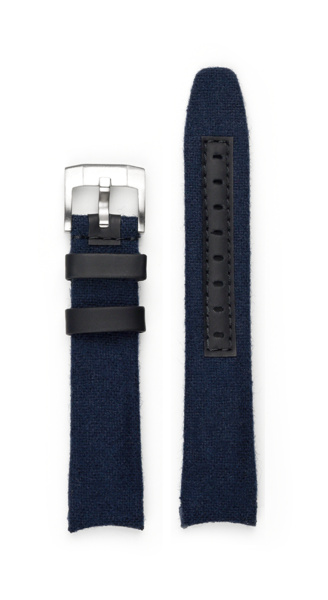 Everest EVEREST CURVED END NYLON WITH TANG BUCKLE (BLUE)