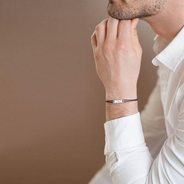 LOVE IS BLIND BRACELET - WHITE GOLD