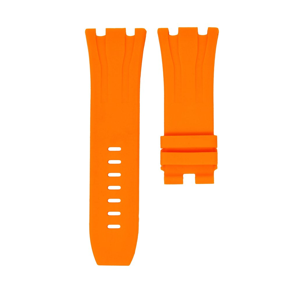 Horusstraps HORUS Orange Rubber AP Offshore 44mm Strap