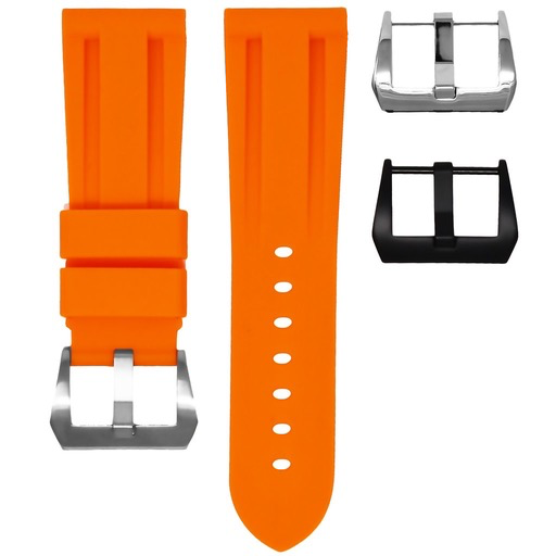 Horusstraps HORUS Orange Rubber Strap for Panerai