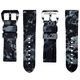 Horusstraps HORUS Graphite Digital Camo Rubber Strap for Panerai