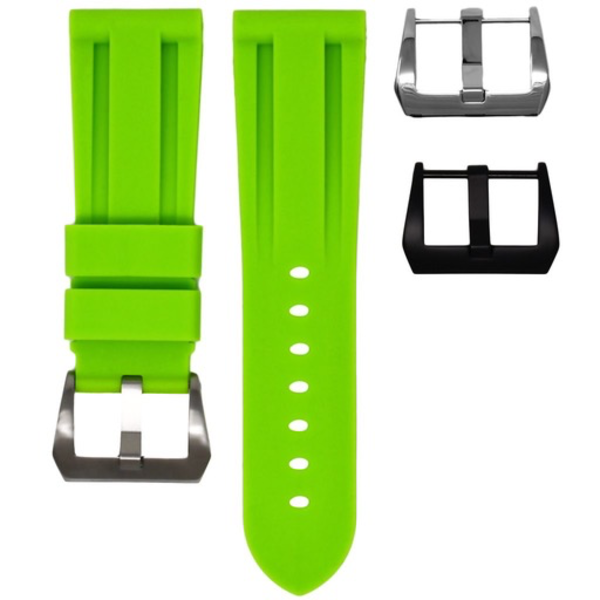 HORUS Lime Rubber Strap for Panerai