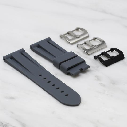 Horusstraps HORUS Grey rubber for Panerai