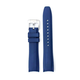 Everest EVEREST CURVED END RUBBER FOR ROLEX MILGAUSS,SD,AirKing WITH TANG BUCKLE-Blue