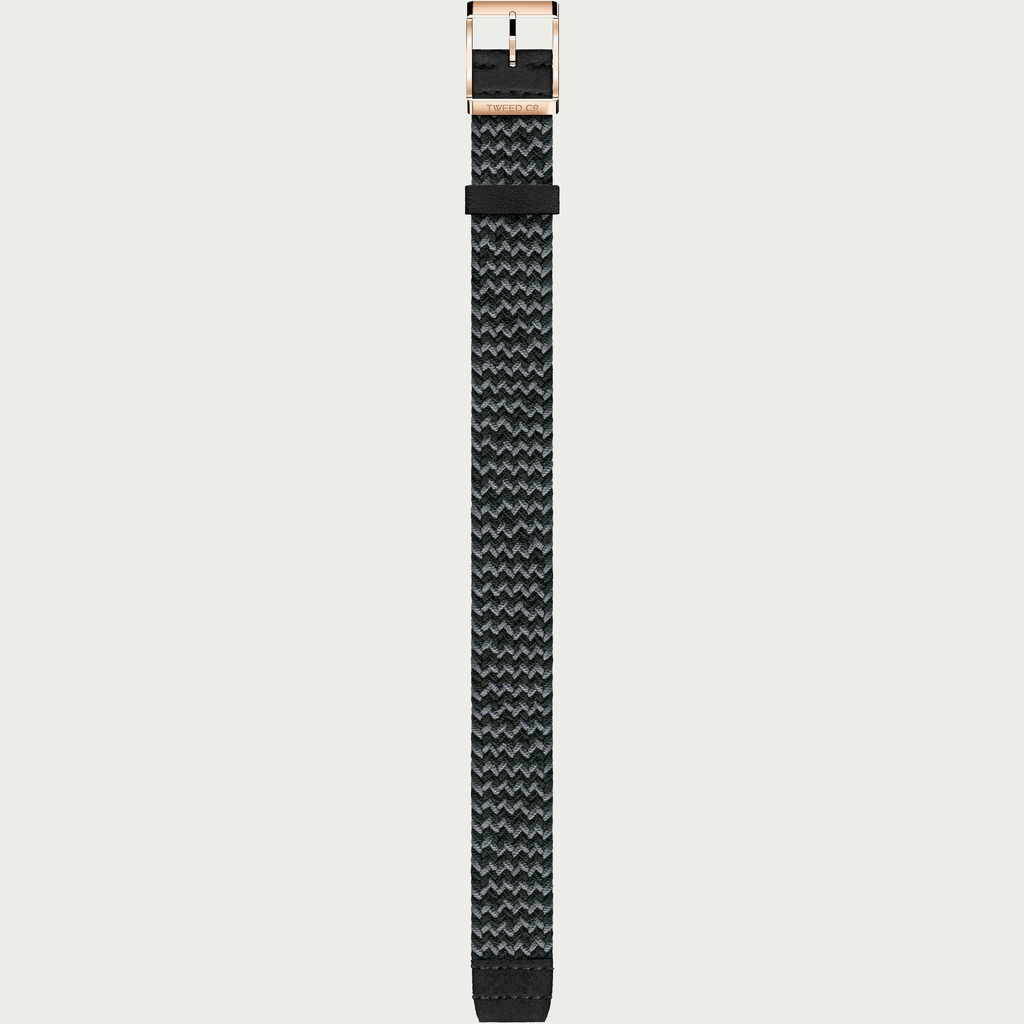 Tweed Co Strap MARTY - ROSE GOLD BUCKLE