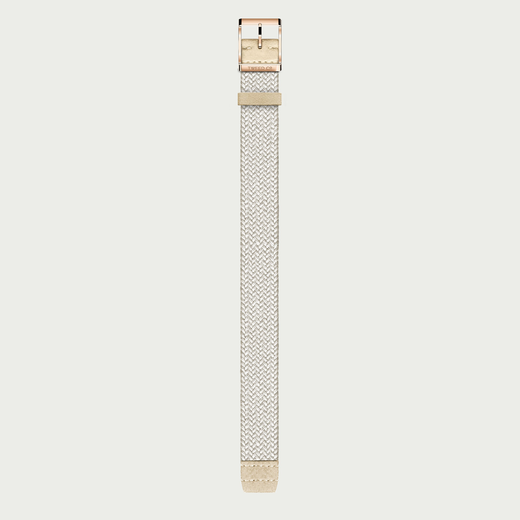 Tweed Co Strap KATE - ROSE GOLD BUCKLE