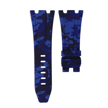 Horusstraps HORUS Blue Camo Rubber AP Diver 42mm Strap