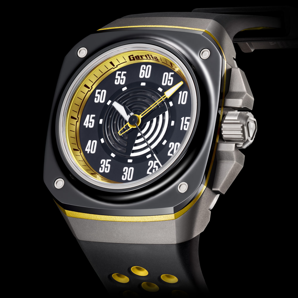 Gorillawatches BI-COLOR STINGER YELLOW