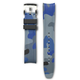 Everest EVEREST CURVED END RUBBER WITH TANG BUCKLE (CAMO BLUE)-Rolex Sports models