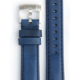 Everest EVEREST CURVED END LEATHER WITH TANG BUCKLE - BLUE
