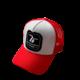 SEVENFRIDAY SEVENFRIDAY CAP, RED