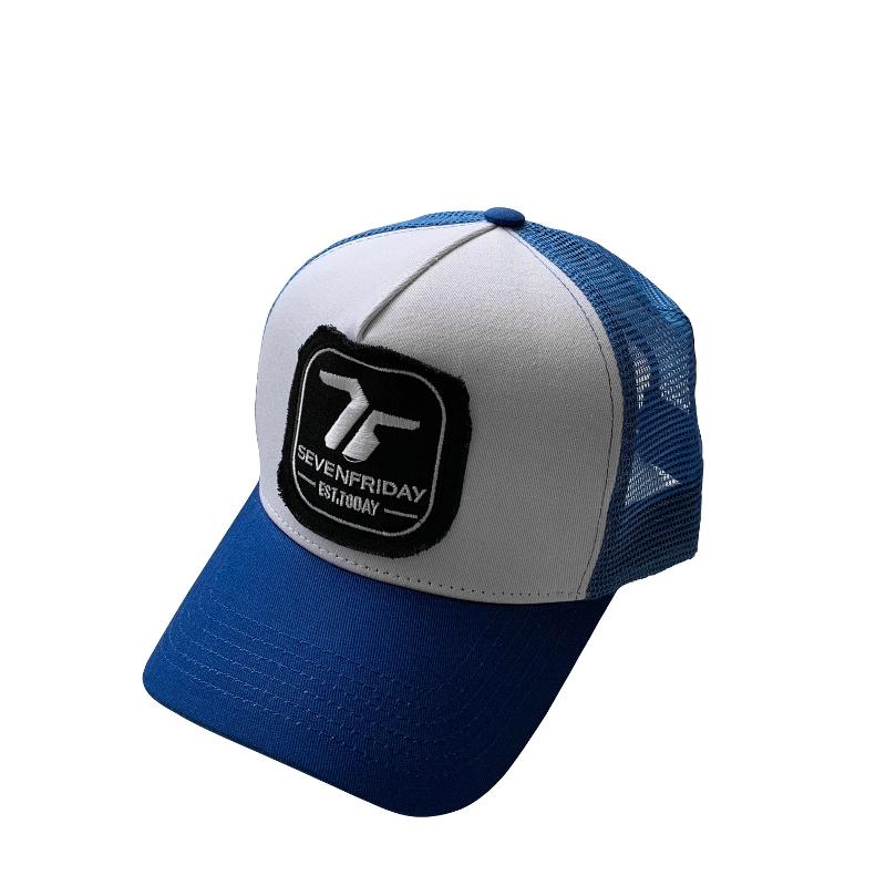 SEVENFRIDAY SEVENFRIDAY CAP, BLUE